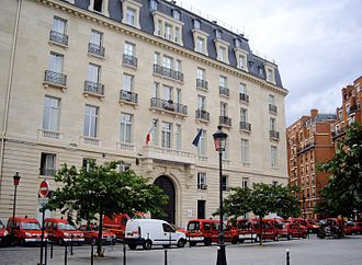 Paris Fire Brigade - The Fire Brigade's headquarters in Paris