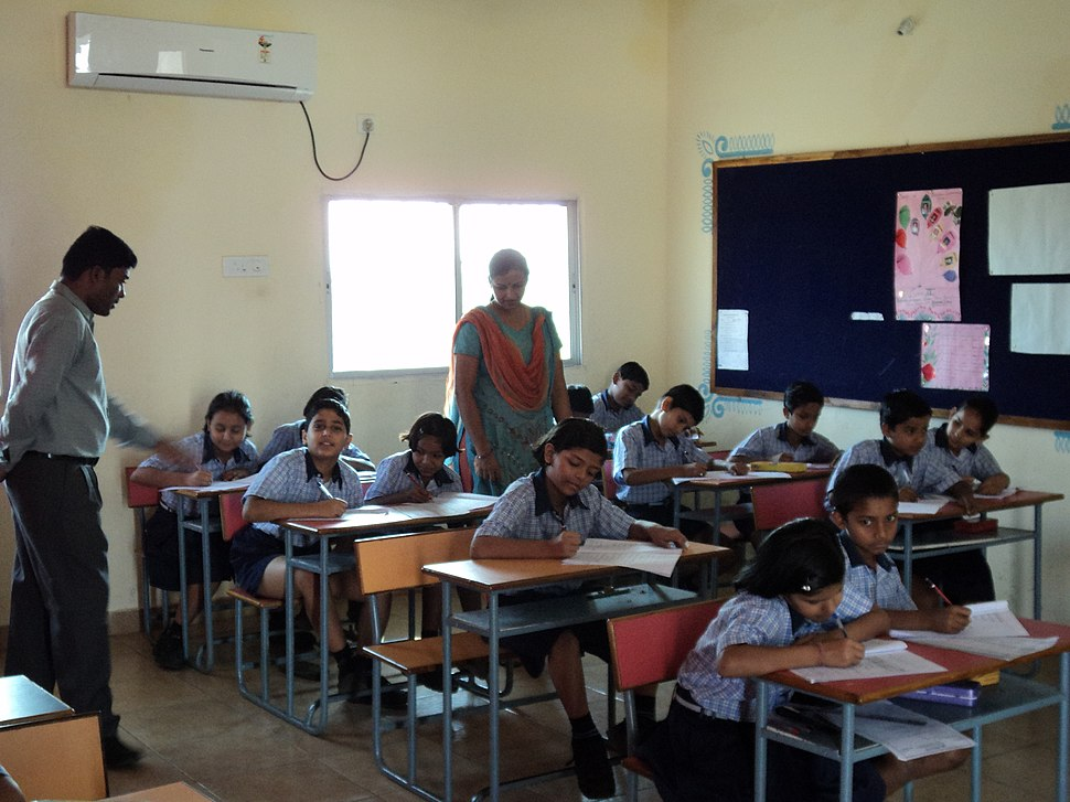Brighton International School, Raipur - AC Classroom