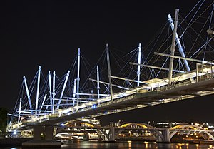 Tensegrity - Largest Tensegrity bridge in the world Kurilpa Bridge- Brisbane