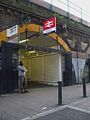 Brixton rail station north entrance.JPG