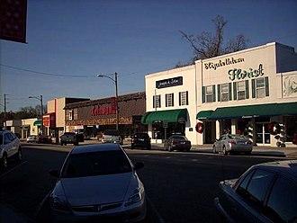 Elizabethtown, North Carolina - A view of Broad Street