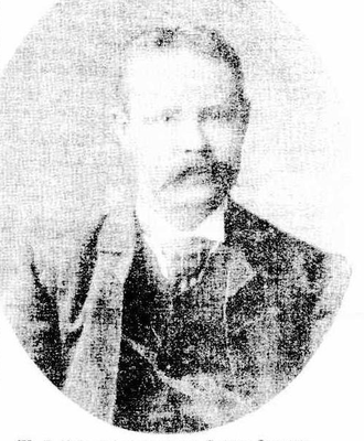1892 Broken Hill miners' strike - W.J. Ferguson one of the labour leaders