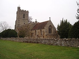 Grade I listed buildings in Bedfordshire - Image: Bromham church geograph.org.uk 85974