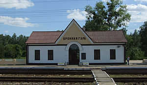 Bronnaya Gora, Train Station.jpg