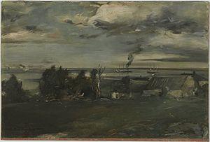 Lake Superior - Brooklyn Museum – Lake Superior – Walter Shirlaw