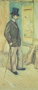 Brooklyn Museum - Portrait of M. Paul Sescau (Portrait de M. Paul Sescau) - Henri de Toulouse-Lautrec.jpg