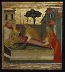 Brooklyn Museum - Saint Lawrence Buried in Saint Stephen's Tomb - Lorenzo di Niccolò.jpg