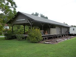 Brooksville Railroad Depot Museum - Brooksville Railroad Depot Museum