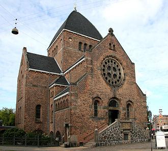 Brorson's Church - Image: Brorsons Kirke Copenhagen