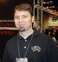 Bruce Cordell at Gen Con on August 22, 2004