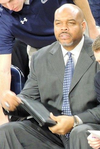 Bryant Stith - Stith coaching in December 2015