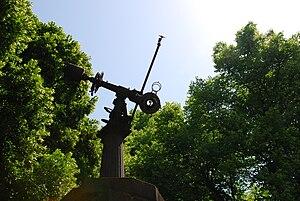 Düsseldorf-Bilk Observatory - Image: Bst durch