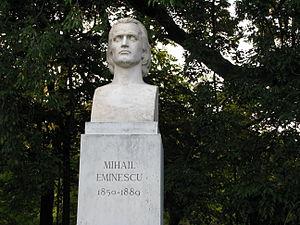 Cișmigiu Gardens - Image: Buc Bust Mihail Eminescu