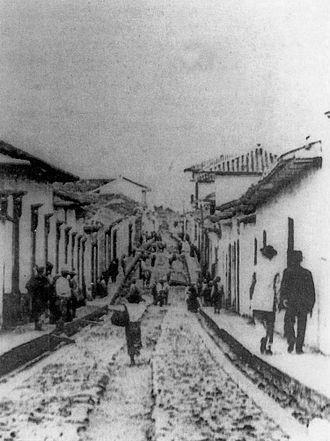 Bucaramanga - Bucaramanga in 1851