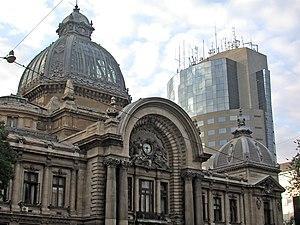 Romania, Bucarest, Casa de Depuneri (CEC Bank ...