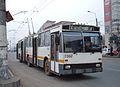 Bucharest DAC articulated trolleybus 7362 in 2006.jpg