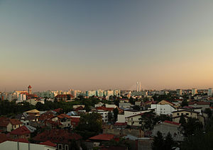 Bucharest metropolitan area - Image: Bucharest Skyline