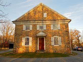 Buckingham Friends Meeting House - West end of the meeting house.