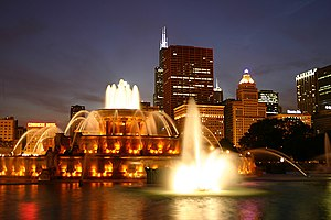 Buckingham Fountain - Buckingham Fountain