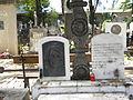 Bucuresti, Romania, Cimitirul Bellu Ortodox (Mormantul lui Nichita Stanescu) (detaliu).JPG