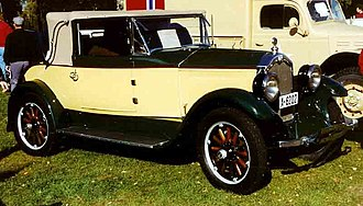 Buick Master Six - Image: Buick Cabriolet 1927