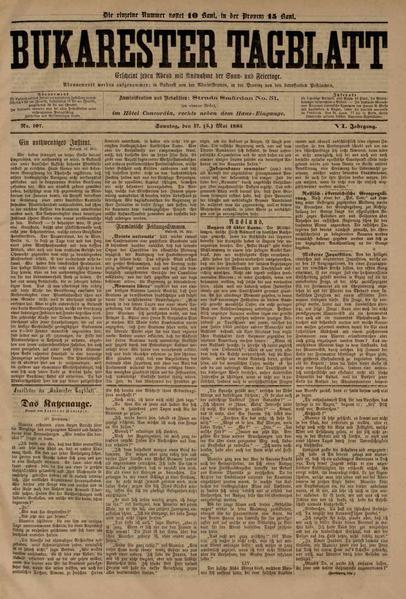 File:Bukarester Tagblatt 1885-05-17, nr. 107.pdf