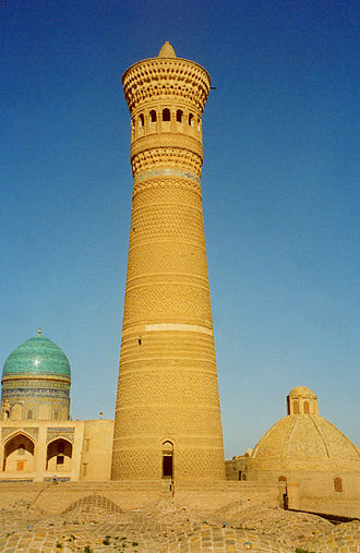 Kara-Khanid Khanate - The Kalyan minaret in Bukhara
