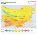 Bulgaria DNI Solar-resource-map GlobalSolarAtlas World-Bank-Esmap-Solargis.png