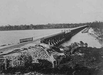 Bunbury Bridge - Bunbury Bridge, c.1930