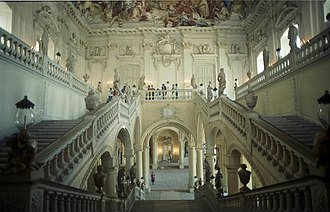 Würzburg Residence - Main staircase