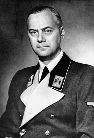 Reich Ministry for the Occupied Eastern Territories - Alfred Rosenberg, head of the  Reich Ministry for the Occupied Eastern Territories