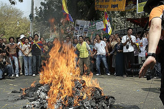 Burning effigies of Chinese leaders.jpg
