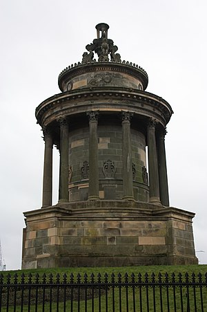 1831 in architecture - Image: Burns Monument, Edinburgh by Thomas Hamilton