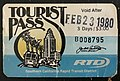 Bus Ticket, Tourist Pass, 1980, California,.jpg