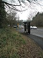 Bus shelter on the Winchester Road - geograph.org.uk - 1169932.jpg