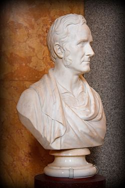 Bust of sir robert smirke, british museum