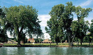 Buena Vista University - Buena Vista University's campus on the shores of Storm Lake in Northwest Iowa