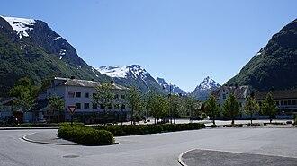 Byrkjelo - View of Byrkjelo