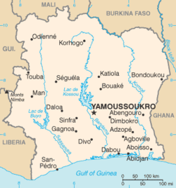 List Of Cities In Ivory Coast Wikipedia