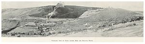 Sunny Corner, New South Wales - Image: CARNE(1899) p 235 SUNNY CORNER MINE AND SMELTING WORKS