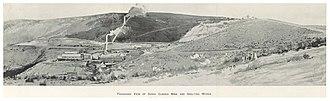Sunny Corner, New South Wales - Image: CARNE(1899) p 235 SUNNY CORNER MINE AND SMELTING WORKS