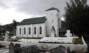 Rarotonga - CICC church in Avarua