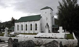 Avarua - CICC church