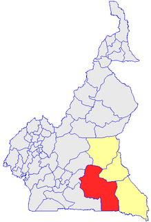 Haut-Nyong Department in East Province, Cameroon