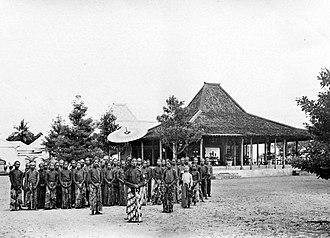 Joglo - Joglo in Yogyakarta circa 1908