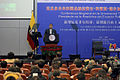 CONFERENCIA MAGISTRAL DEL PRESIDENTE RAFAEL CORREA EN CHINA (16036257259).jpg