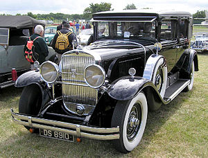 Cadillac Fleetwood - 1929 Cadillac V-8 series 341-B Imperial sedan or limousine, body by Fleetwood