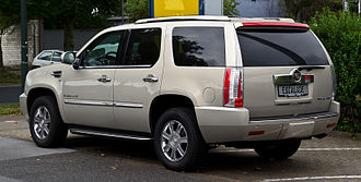 Cadillac Escalade - GMT900 Cadillac Escalade (regular length)