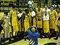 Cal men's team with 2008 Golden Bear Classic championship trophy.JPG