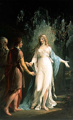 Calypso receiving Telemachus and Mentor in the Grotto.jpg
